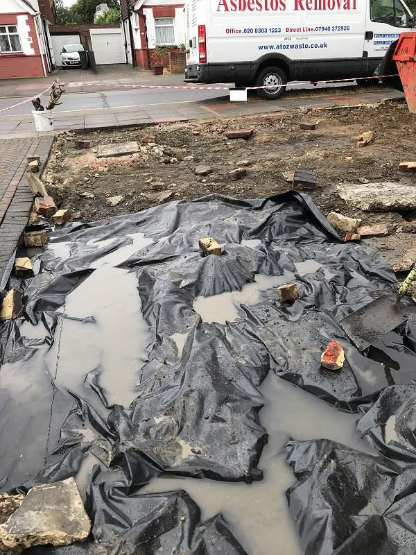 Broken Asbestos Sidcup